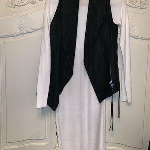 H&M Black Vest Fashion Union Dress